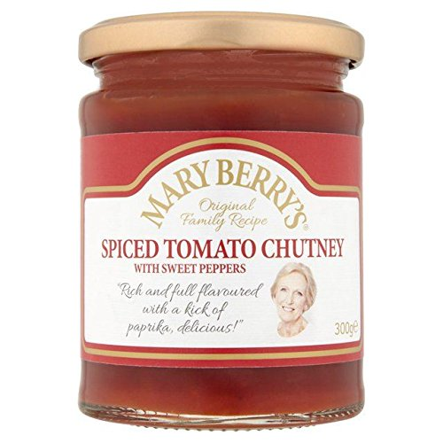 Berry Chutney - Mary Berry's Spiced Tomato Chutney - 300g