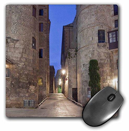 3dRose Old Roman Gate Gothic Quarter Barcelona Spain Eu27 Rti0031 Rob Tilley Mouse Pad - Roman Gate