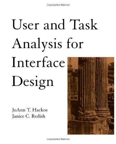 Download User and Task Analysis for Interface Design Pdf