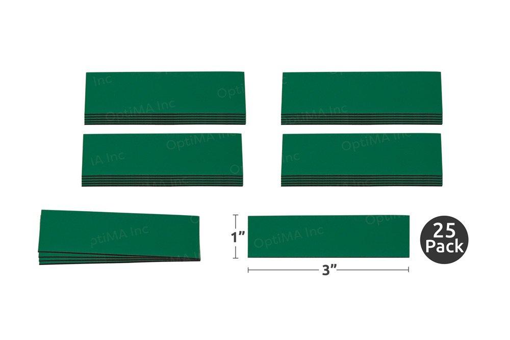 Magna Visual - Tiras magnéticas de colores para escribir y ...