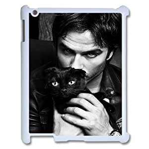 Hot Sale Customized Phone Case for Ipad 2,3,4 - Ian Somerhalder Custom Cover Case JZQ-921460