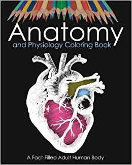 Amazon Anatomy And Physiology Coloring Book A Fact Filled Adult Human Body For Medical Studentnurse College Student Pupil 9781985086821 Alex
