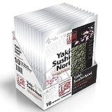 Kaneyama Yaki-Sushi-Nori, Premium Gold, Full Size, 10-Sheets, 12-Pack-Box