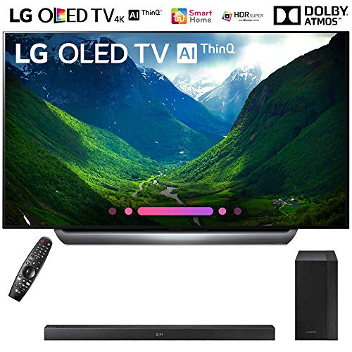 "LG OLED65C8PUA 65""-Class C8 OLED 4K HDR AI Smart TV  with Sa"