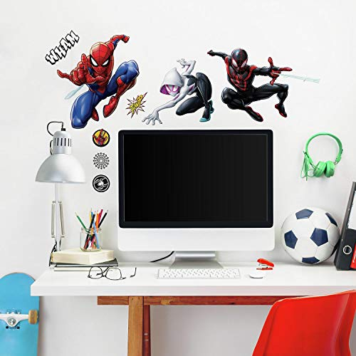 (RoomMates Spider-Man Miles Morales Peel And Stick Wall Decals)
