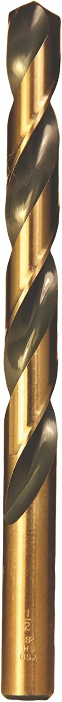 12 Pack Viking Drill and Tool 88350#48 Type 240-UB 135 Degree Split Point Magnum Super Premium Jobber Drill Bit