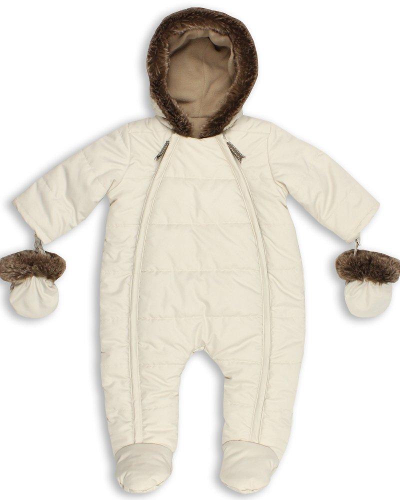 The Essential One - Trajes de Nieve Abrigo para bebé - crema - acolchado - 0-3 meses EO138