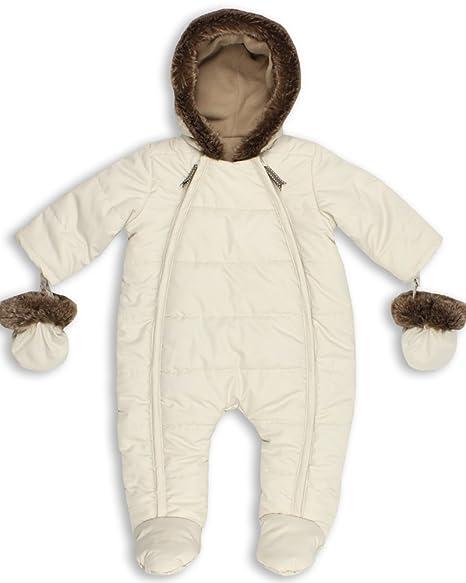 c851a1d15 The Essential One - Trajes de Nieve Abrigo para bebé - crema - acolchado -  12