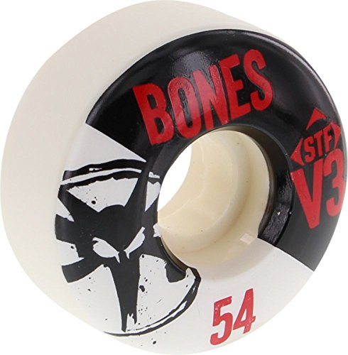 効果的に母性クリスマスBones Stf Slim V3 Series 54mm Skate Wheels by Bones Wheels