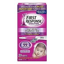 First Response Daily Digital Ovulation Test Sticks