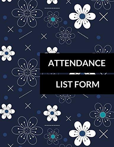 Attendance List Format