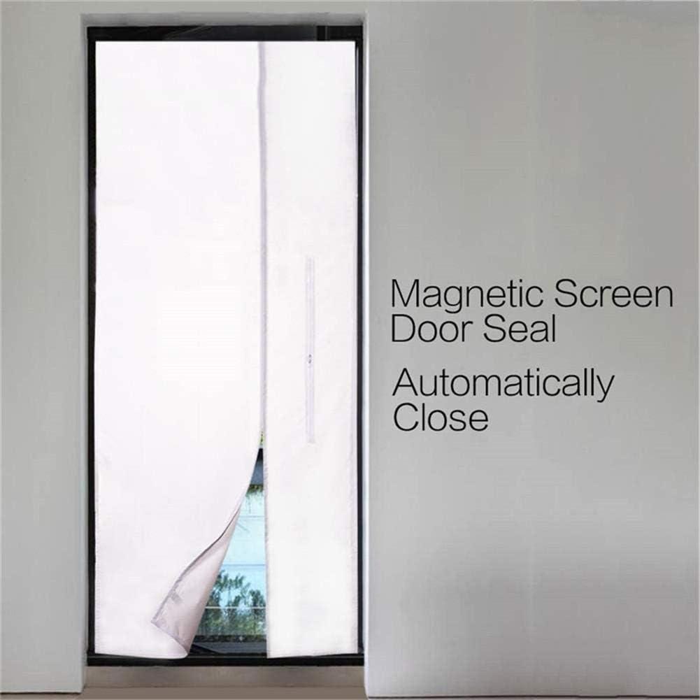 Junta universal de puerta de ventana para acondicionadores de aire móviles y secadora de aire acondicionado Kit de sello de cubierta de puerta de aire acondicionado portátil Sellado de tela: Amazon.es: Hogar