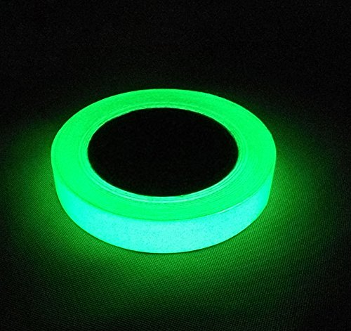 - Luminous Tape, Proboths 1 Roll Removable 33 ft Length X 0.6 in Width Safety Photoluminescent Home Decor Tape Glow in the Darkness Sticker