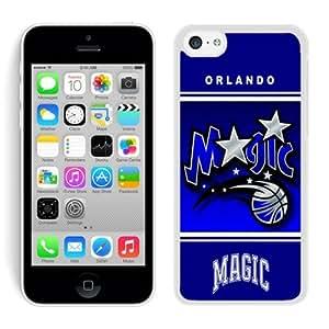 New Custom Design Cover Case For iPhone 5C Generation Orlando Magic 10 White Phone Case