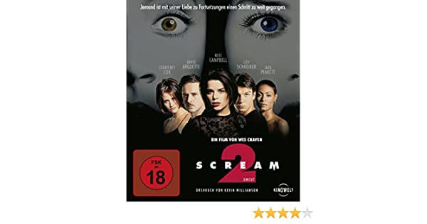 Scream 2 [Alemania] [Blu-ray]: Amazon.es: David Arquette, Neve Campbell, Courteney Cox, Jada Pinkett, Jamie Kennedy, Jerry OConnell, Liev Schreiber, ...
