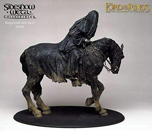 LM Treasures Rare Lord of The Rings Ringwraith on Steed by Side Show -