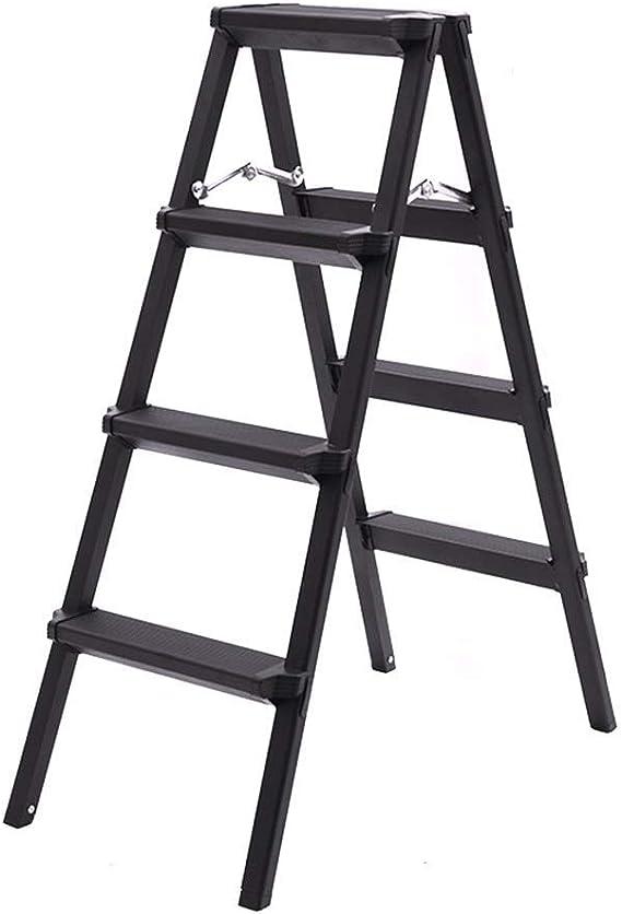 MJY Escalera de Decoración Multipropósito para Interiores, Escalera Lateral de Huerto/Granja Escaleras de Mano de Aluminio Antideslizantes - Diseño de Almohadilla Antideslizante de Tres Colores,una: Amazon.es: Bricolaje y herramientas