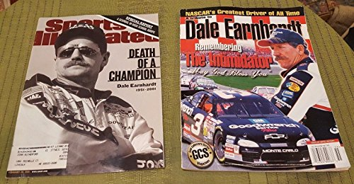 2 DALE EARNHARDT TRIBUTE Magazines from 2001 SPORTS ILLUSTRATED & GCS