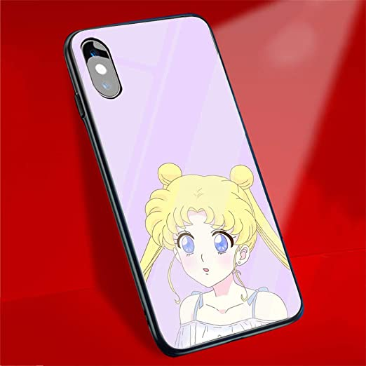 DAVIDLING AM-208 Sailor Moon - Carcasa para iPhone X, XS, XR, MAX ...