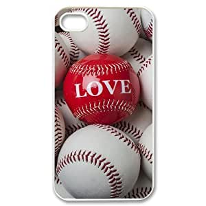 baseball Unique Design Cover Case with Hard Shell Protection for iPhone 5c Case lxa#243100