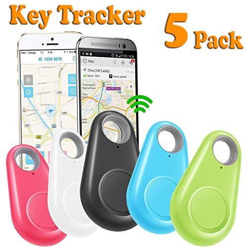 - GBD 5 Pack Smart Key Finder Locator for Kids Boys Girls Pets Keys Wallet Keychain Car Dog Cat Tracker Child Phone Alarm Anti Lost Selfie Shutter Wireless Seeker Sensor