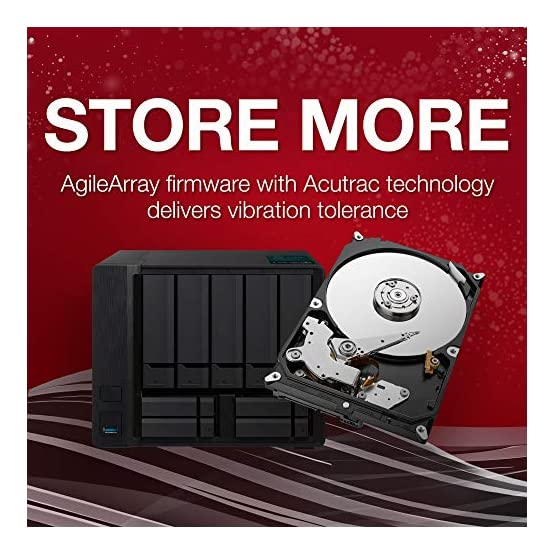 Seagate IronWolf 1TB NAS Internal Hard Drive HDD – CMR 3.5 Inch SATA 6Gb/s 5900 RPM 64MB Cache for RAID Network Attached… 51fBjtmUVAL. SS555