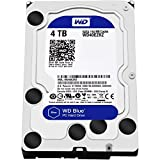western digital wireless - WD Blue 4TB Desktop Hard Disk Drive - SATA 6 Gb/s 64MB Cache 3.5 Inch - WD40EZRZ