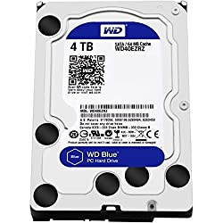 Wd Blue 4tb Desktop Hard Disk Drive - Sata 6 Gbs 64mb Cache 3.5 Inch - Wd40ezrz