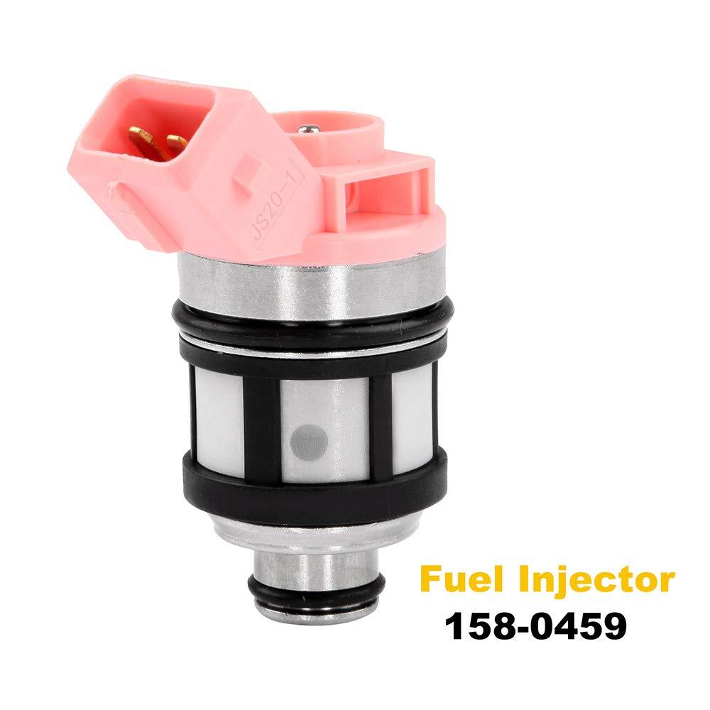 ECCPP Fuel Injectors 1pcs High Performance Fuel Injector Kits 158-0459 Fit for 1993-1995 Mercury Villager,1995 Nissan Pickup,1990-1995 Nissan Pathfinder,1994 1995 Nissan Quest,1990-1994 Nissan D21 105322-5211-1939262781