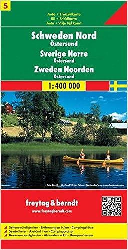 Sweden North Ostersund Amazoncouk Freytag Berndt - Sweden map ostersund