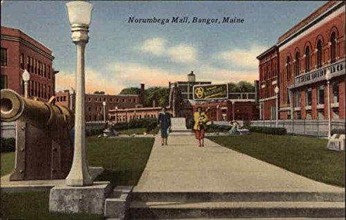 Norumbega Mall Bangor, Maine Original Vintage - The Bangor Mall
