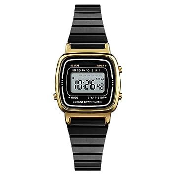 WULIFANG Marca De Lujo Mujer Deportiva Impermeable Reloj Led Reloj Digital Electrónico Mujer Señoras Relojes De