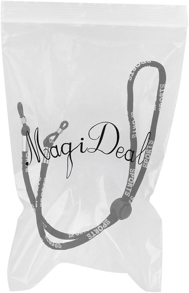 MagiDeal Cordino Titolare Monocolo Regolabile Nero Cavo Eyewear Laccio Da Collo