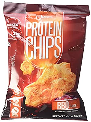Quest Nutrition Protein Chips, BBQ 5 Bags