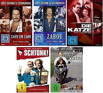 Götz George 5 Dvd Set Zahn Um Zahn Zabou Die Katze Schtonk