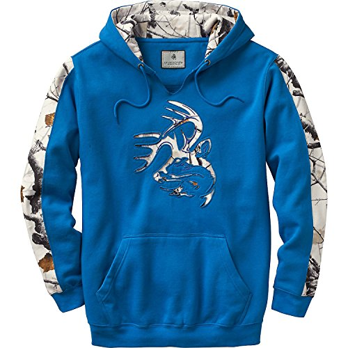 Legendary Whitetails Mens Snow Camo Outfitter Hoodie Liberty X-Large -
