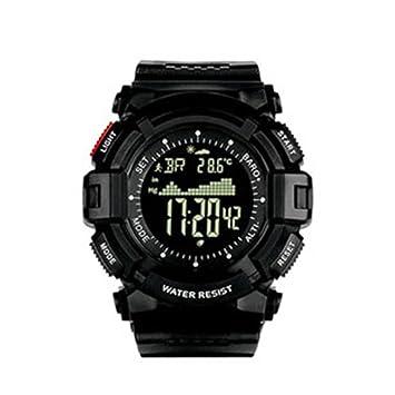 NORTH EDGE - Reloj de pulsera digital para hombre, militar, multifunción, con retroiluminación LED, resistente al agua, hombre, Red button: Amazon.es: ...