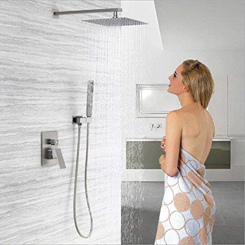 shower system brushed nickel - 2