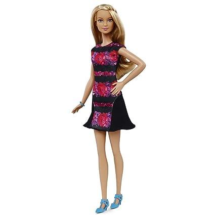 043c49d207d Amazon.com: Barbie Fashionistas Doll 28 Floral Flair - Tall: Toys & Games