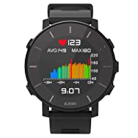 Sport Watch with Heart Rate Monitor Men's GPS Fitness Tracker Color Display EZON T935