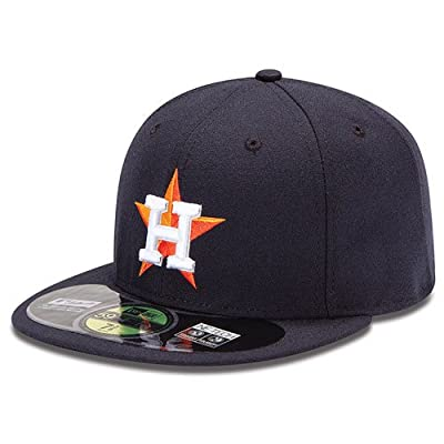 Houston Astros MLB 59Fifty Fitted Cap by New Era (Navy-White)