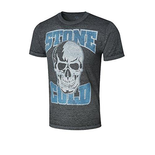 WWE Stone Cold Steve Austin Acid Wash T-Shirt Black XL by WWE Authentic Wear