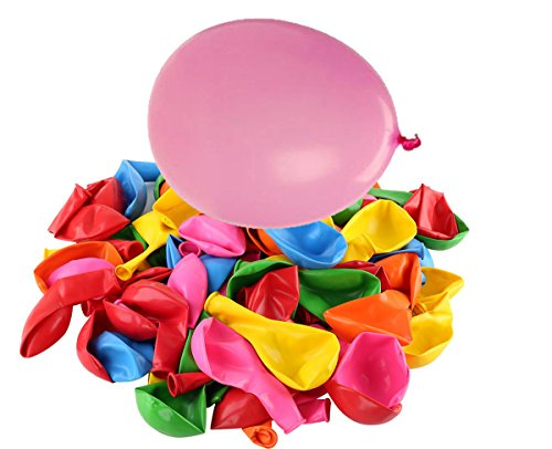 Pparty Assorted Color Balloons Happy Everyday for Party Birthday Kids Children (100pcs)