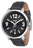Vestal Men's DPL001 Doppler Slim Black Watch by Vestal