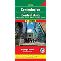 Freytag Berndt Autokarten, Zentralasien - Kasachstan Süd - Kirgisistan - Tadschikistan - Turkmenistan - Usbekistan - Maßstab 1:1.500.000 (freytag & berndt Auto + Freizeitkarten)