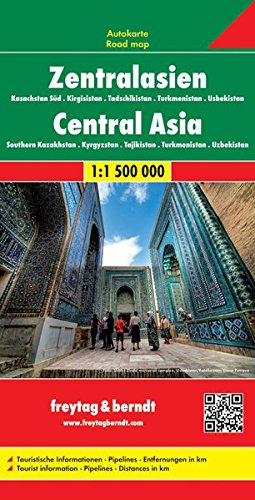 Asia centrale 1:500.000 (Auto karte)