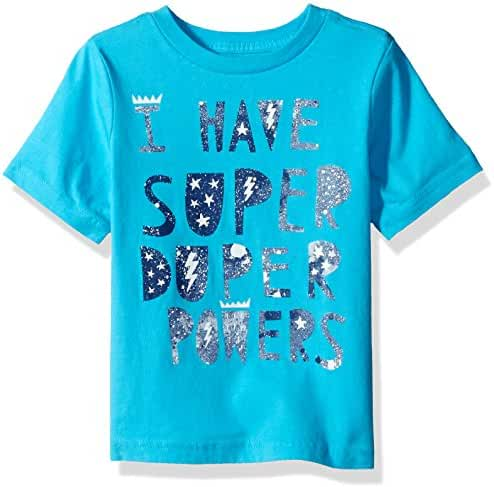 The Children's Place Toddler Boys' Fun Message Graphic T-Shirt