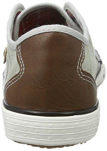 Rieker Damen M2212 Sneakers Grau (shark/brown / 40)