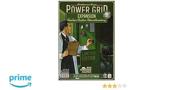 Power Grid - Juego de tablero (Rio Grande Games RGG479) (versión en inglés): Amazon.es: Juguetes y juegos
