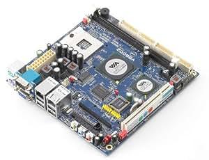 Via Technologies VB6002G - Placa base (Mini-ITX, 2 GHz) color negro